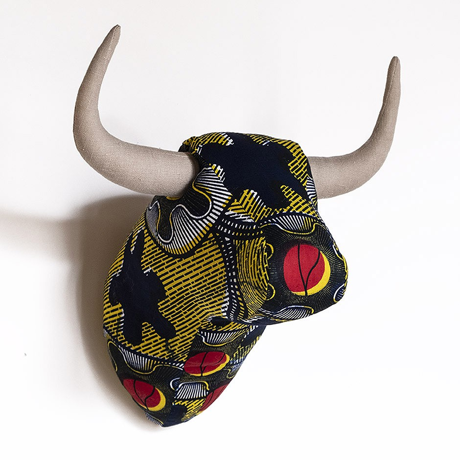 Soft Bull - Yellow Kente