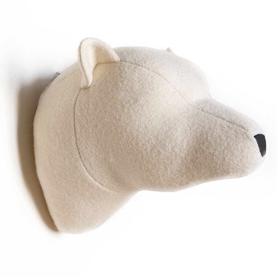 Soft Polar Bear - White