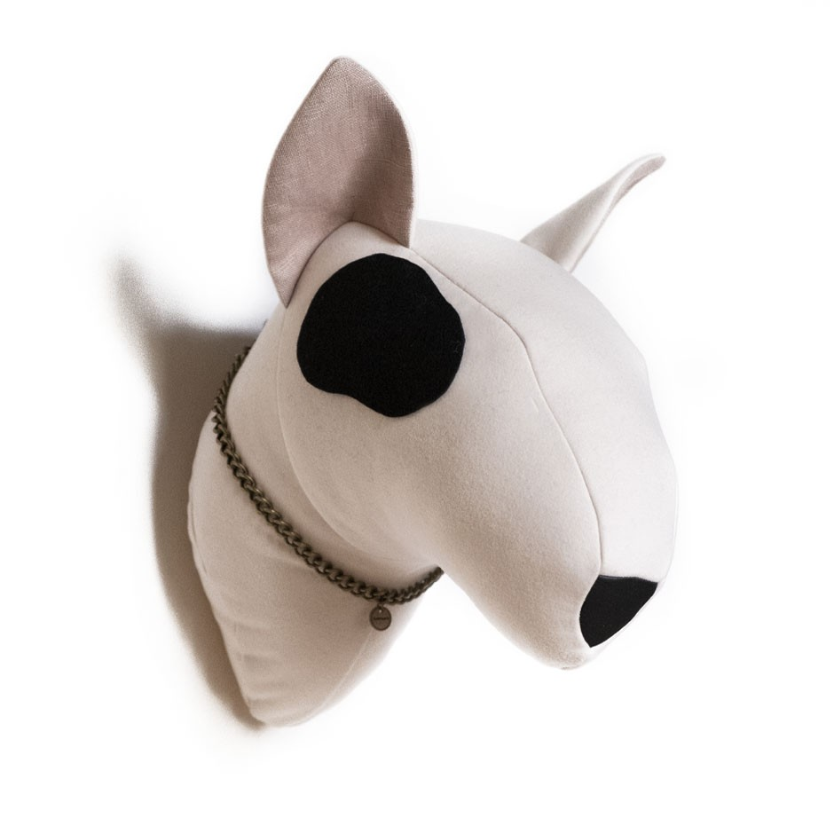 Soft Bull Terrier - white