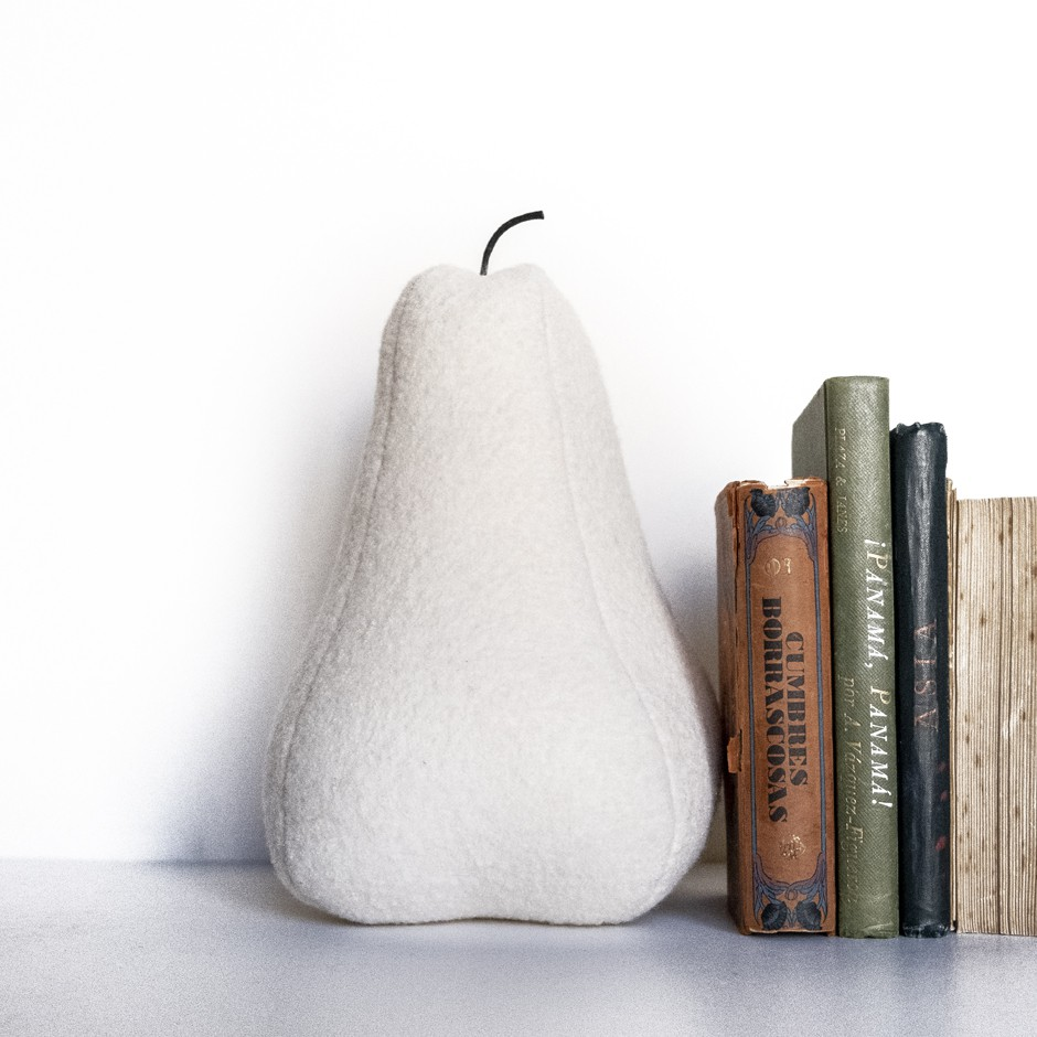 Pear Bookend - Off White