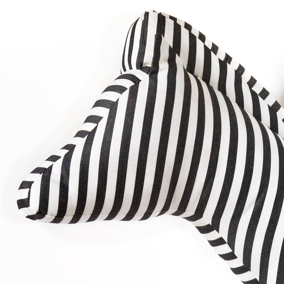 Soft Zebra - Stripes B&W