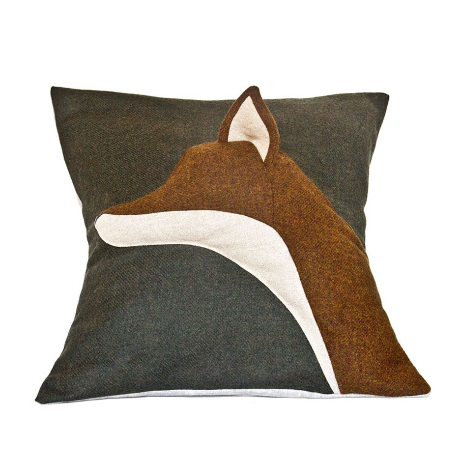Fox Cushion - Red Mill