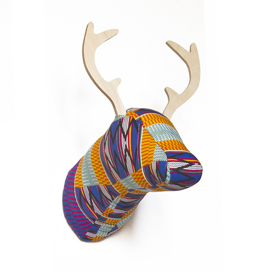 Soft Deer - Kente Orange